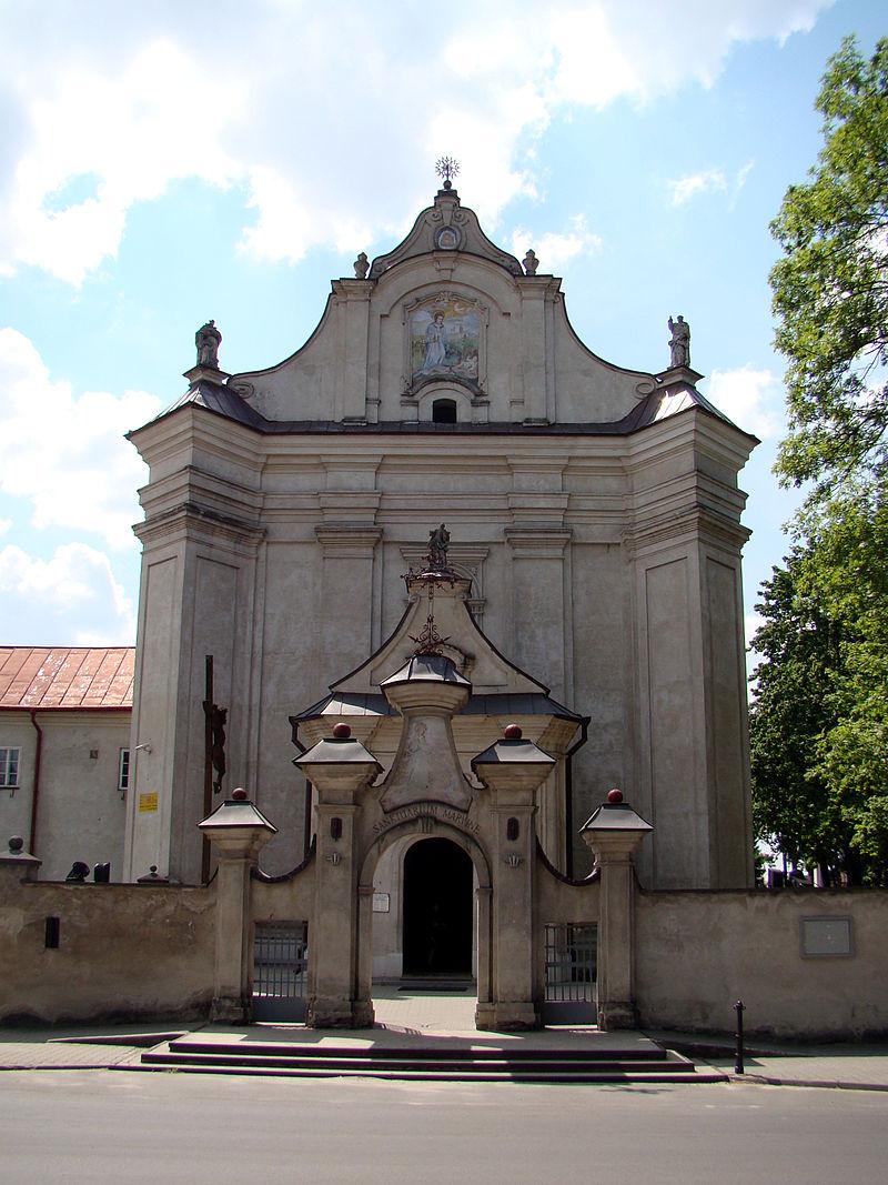 Kościół wraz z dawnym klasztorem
