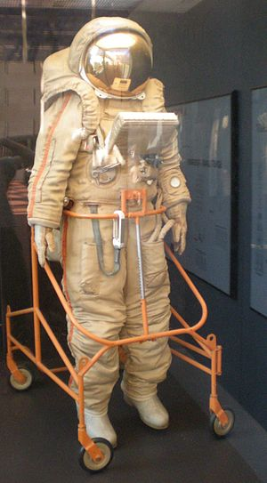 Krechet-94 - Image: Krechet space suit Air and Space