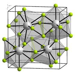 Kristallstruktur von Bismut(III)-chlorid