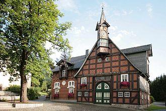 Olsberg, Germany - Kroppsche Haus in Olsberg