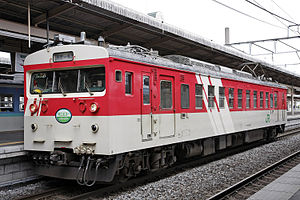 123 series - JR East KuMoHa 123-1 in May 2008