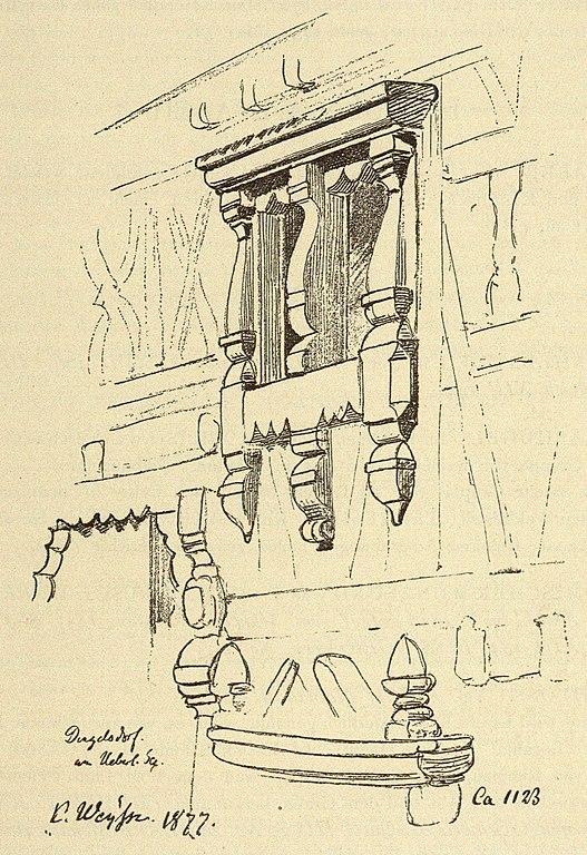 File:Kunstdenkmäler KN 1887 S067 Dingelsdorf Holzbau Detail 25.jpg ...