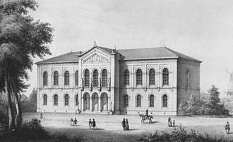 Kunsthalle Bremen - The Kunsthalle Bremen in 1849