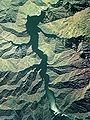Kuromatagawa II Dam lake survey 1976.jpg