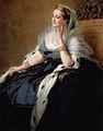 L'impératrice Eugénie en robe de cour, 1862, Franz Xaver Winterhalter (detail).jpg