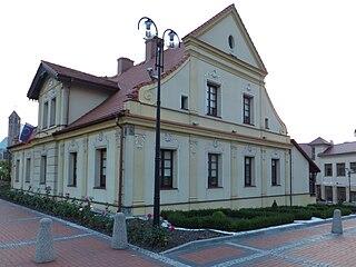 Lędziny Place in Silesian Voivodeship, Poland