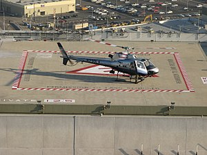 History of the Los Angeles Police Department - An LAPD Helicopter