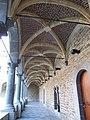 LIEGE Cloître de l'ancien couvent des Frères Mineurs - rue Moray (2-2013).JPG
