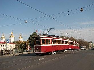 Petersburg Tram Mechanical Factory - Image: LM 33 01