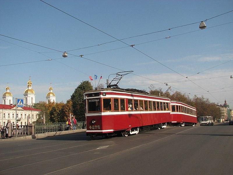 Трамвай застрял в закатанных в асфальт рельсах в Петербурге - Цензор.НЕТ 9443