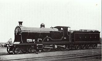 4-2-2-0 - Prototype LSWR T7 4-2-2-0