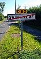 La Bruffière - Panneau de sortie du hameau Saint-Père (juin 2018).jpg