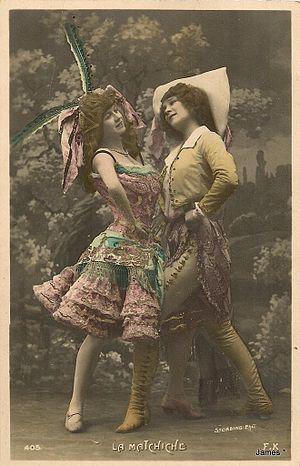 Maxixe (dance) - Image: La Matchiche