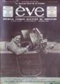 La comtesse Bernard de Ganay au volant de sa Renault Reinastella, en une du magazine Ève (1933).png