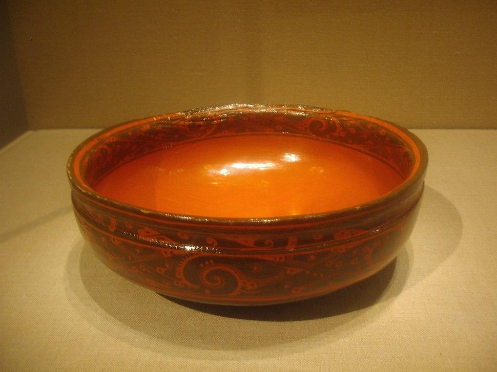 Lacquerware bowl, Western Han Dynasty