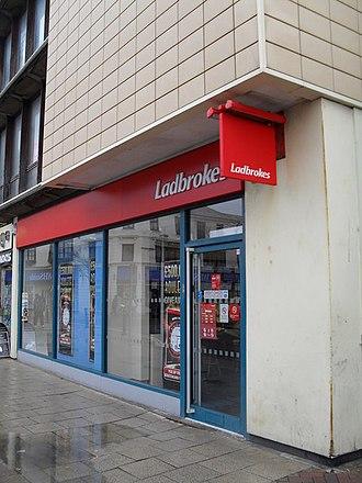 Ladbrokes Coral - A Ladbrokes branch in Worthing