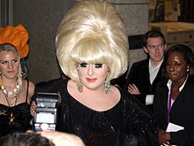 Lady Bunny 2008 Tribeca red carpet.JPG