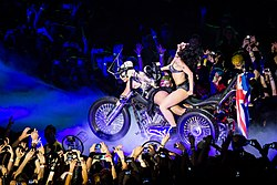 Lady Gaga Heavy Metal Lover Manchester.jpg