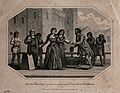 Lady Jane Grey is led to her execution, handing over her tab Wellcome V0041757.jpg