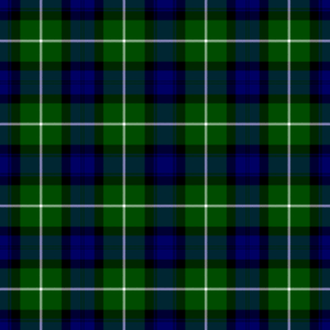 """Clan Lamont - The """"Clan Lawmond"""" tartan which appeared in the dubious Vestiarium Scoticum by the Sobieski Stuarts in 1845."""