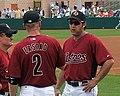 Lance Berkman and Darin Erstad 2008.jpg