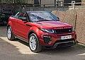Land Rover Range Rover Evoque Convertible 2016 - front three-quarter.jpg