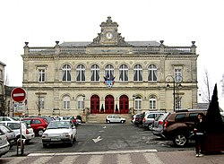 City hall of Laon, Aisne