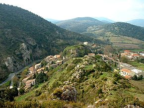 Laroque-de-Fa (France) Rocher.jpg