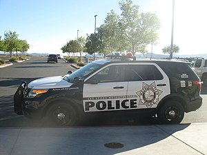Las Vegas Metropolitan Police Department - Las Vegas Metro Ford Explorer Police Interceptor in Spring Valley.