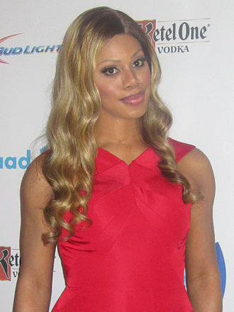 GLAAD Media Award - GLAAD Media Award Honoree Laverne Cox at the 25th GLAAD Media Awards, Los Angeles, April 12, 2014.