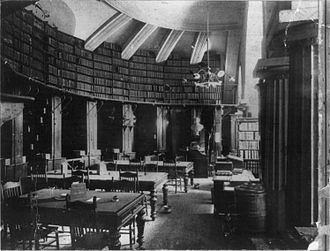 Old Supreme Court Chamber - The Law Library of Congress occupied the chamber 1860–1941