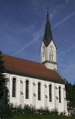 Le Chenit - Le Sentier church