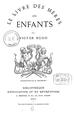 Le Livre des mères les enfants by Victor Hugo - Cover.png