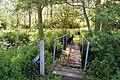Leaning Footbridge over the River Ter - geograph.org.uk - 1319036.jpg