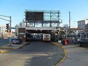 Lechmere (MBTA station) - Lechmere busway, adjacent to the outbound platform exit