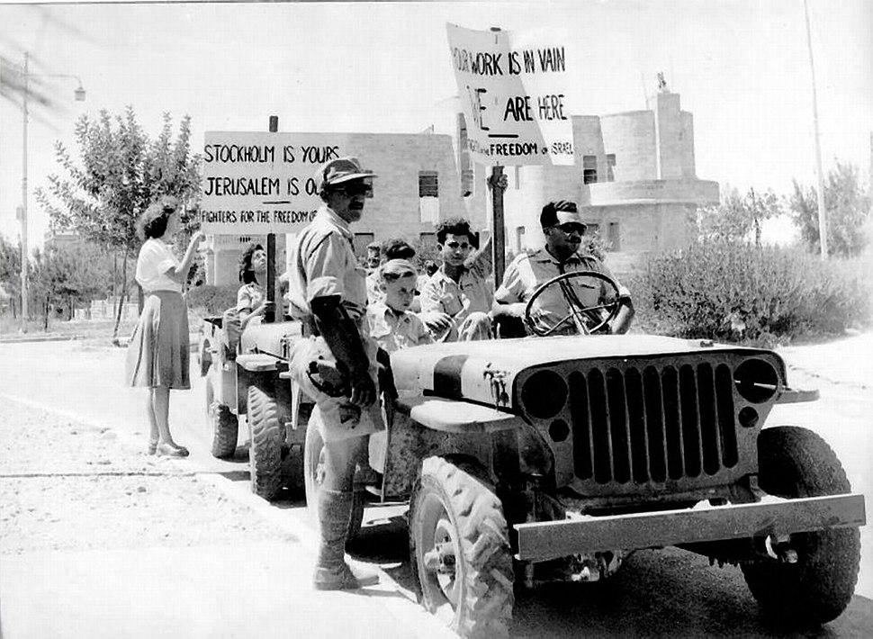 Lehi Bernadotte demonstration