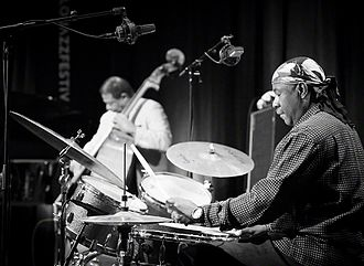 Lenny White - Lenny White with Buster Williams at Oslo Jazzfestival 2016