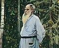 Leo Tolstoy by Nesterov (1918, Sumskiy museum).jpg