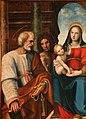 Leonardo Malatesta, Madonna col Bambino tra i santi Pietro, Sebastiano, Cosma, Silvestro e Giovannino, 1518, 04.jpg