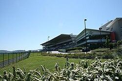 La stando en Leopardstown Racecourse