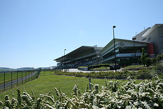 Leopardstown Racecourse - The stand at Leopardstown