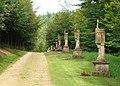 Les 14 stations du chemin de croix de Wachet Saint-Léger Belgique.JPG