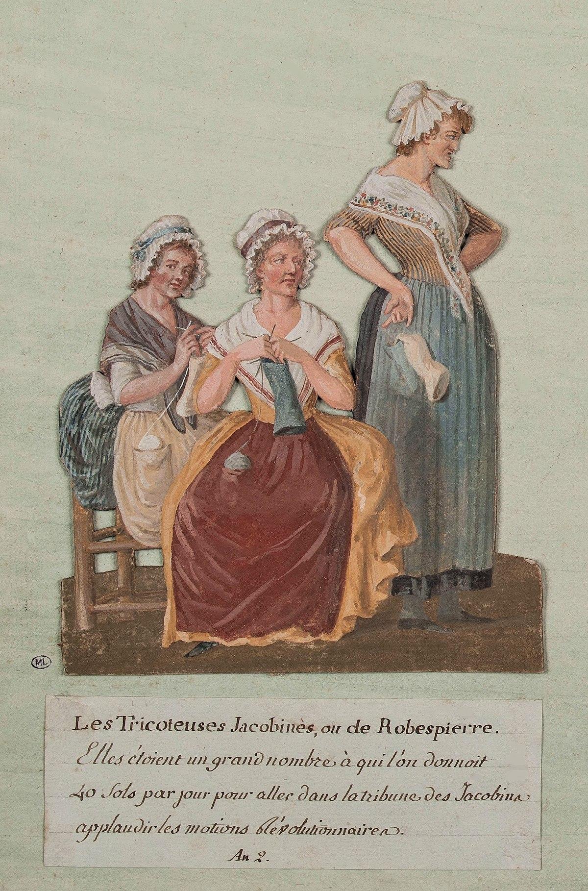 Tricoteuse - Wikipedia