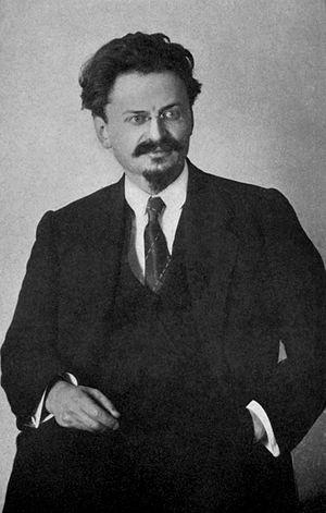 affiche Leon Trotsky