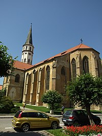 Levoča, kostel.JPG