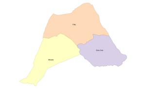 Map of Liben Zone