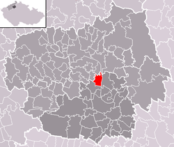 Location of Libotenice