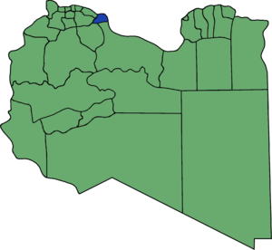 Misrata District - Pre-2007 extent of Misurata District