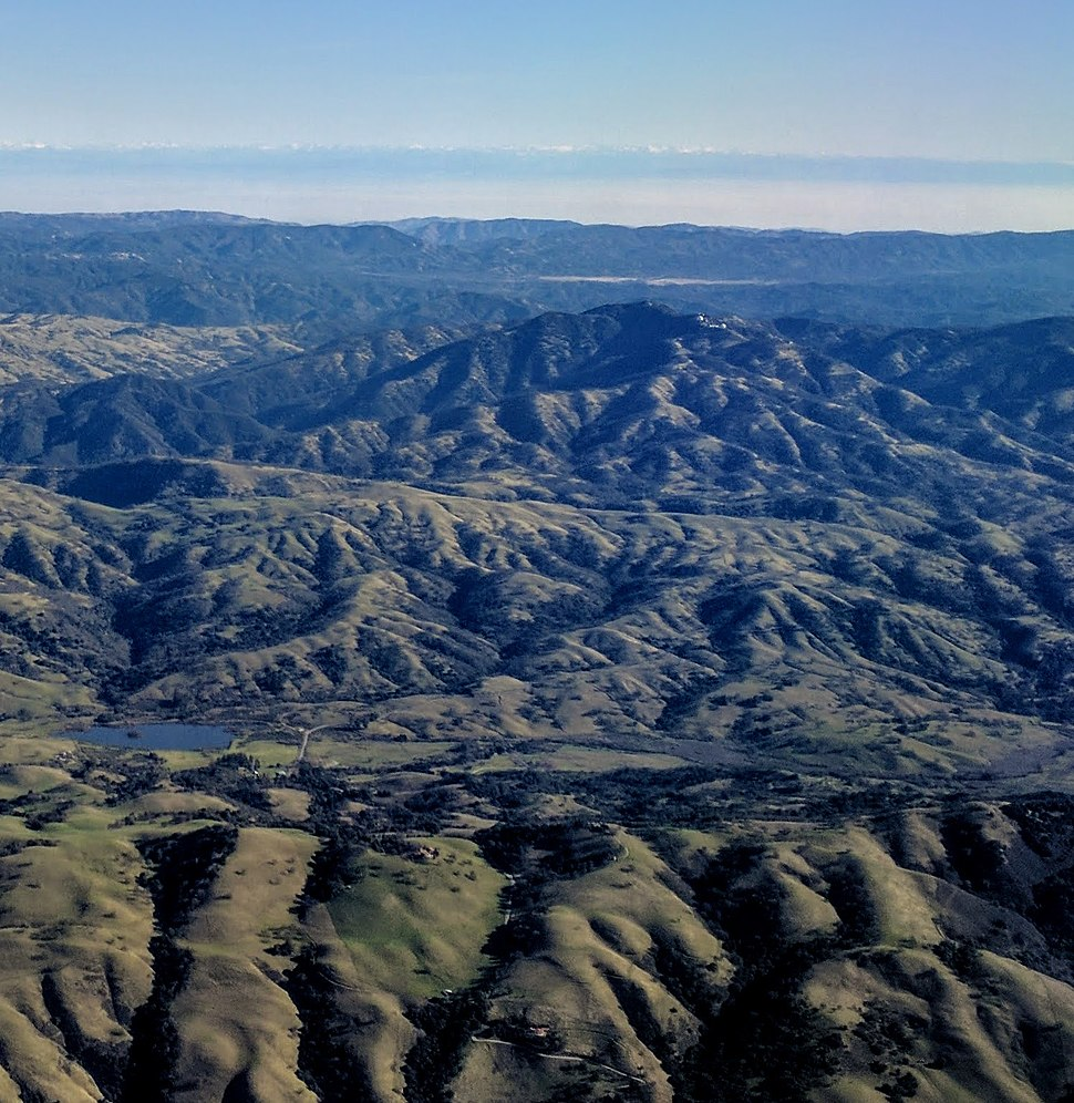 Lick Observatory aerial