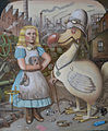 Liddell & Boyd (Alice in the looking glass works) by Karl Beutel 2011.jpg